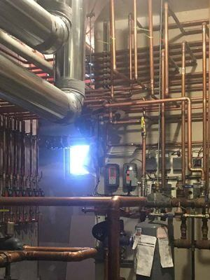geothermal installation